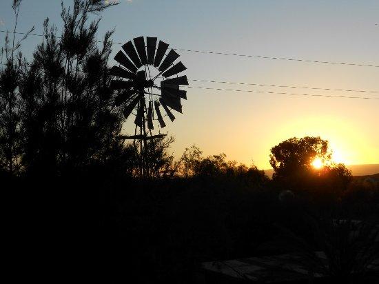 Sunset over Merweville