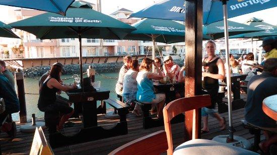 Berties Moorings : Berties boardwalk