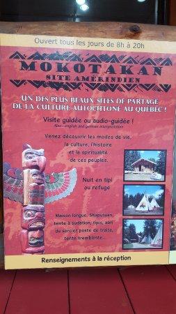 Saint-Mathieu-du-Parc, كندا: Site Mokotakan affiche