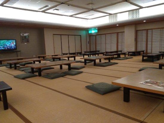Grand Sanpia Hachinohe: 地下レストラン座敷