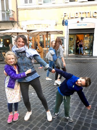 Angel Tours Rome : Awesome tour guide Kasia