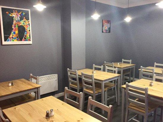 Coatbridge, UK: Main sitting area
