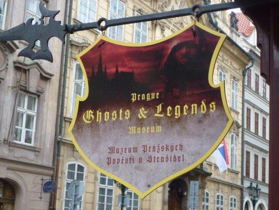 Prague Ghosts and Legends Museum: Добро пожаловать!!!