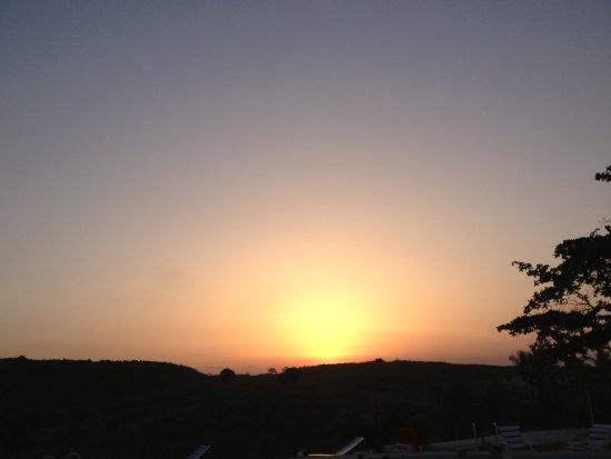 Biriwa, Ghana: tramonto