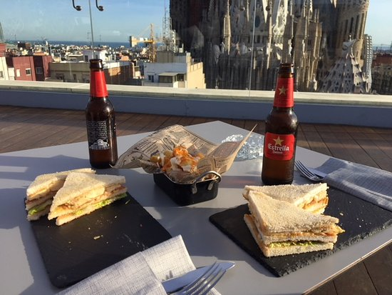 Food In Terrazza Picture Of Ayre Hotel Rosellon Barcelona