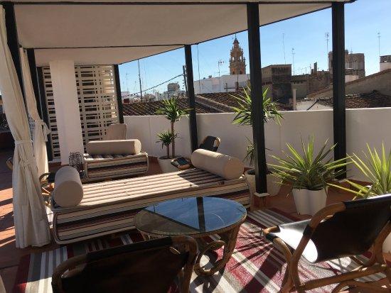 Terraza solarium photo de md design hotel portal del for Hotel design valence
