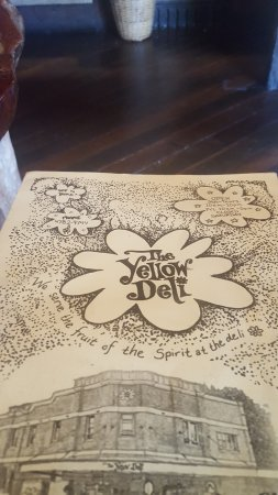 Yellow Deli: The Menu cover