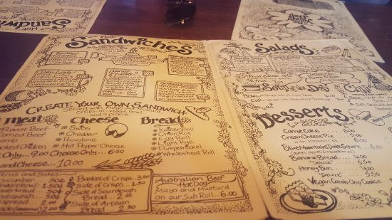 Yellow Deli: Menu Inner pages