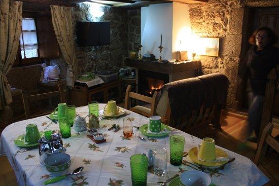 Castelo Novo, Portugal: Pequeno almoço 2018