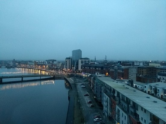 Clayton Hotel Limerick: View from our room