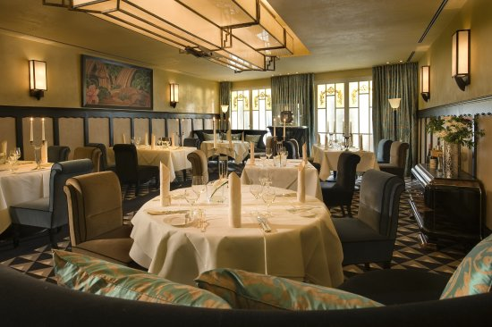 Art Deco Salon - Bild von Romantik Jugendstilhotel Bellevue, Traben ...