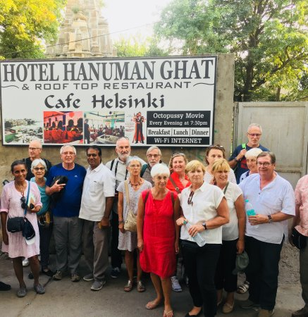 French Group India 2017 - Picture of Hotel Hanuman Ghat