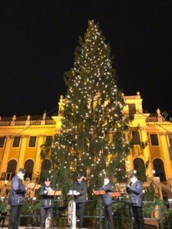 Kultur- und Weihnachtsmarkt Schloß Schönbrunn: 演奏会もあります