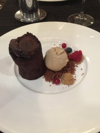 The Arches : chocolate fondant