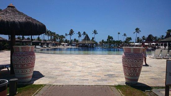 Entrada piscina picture of vila gale mares camacari for Entrada piscina