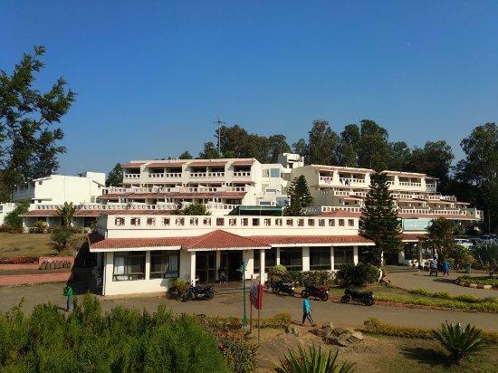 Picture of aptdc haritha mayuri resort araku - Araku valley resorts with swimming pool ...