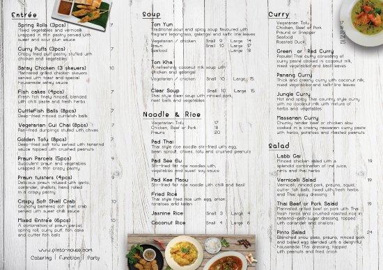 Coolum Beach, Austrália: Take-away menu