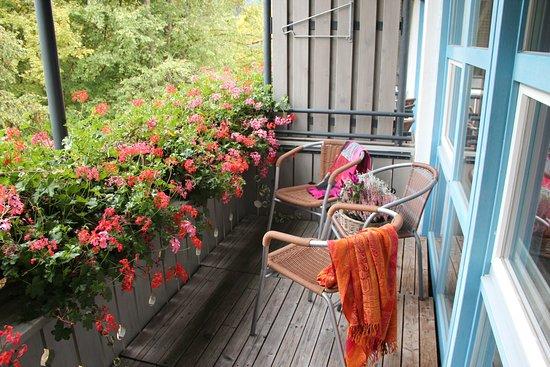 Hotel Bannwaldsee: Balkon