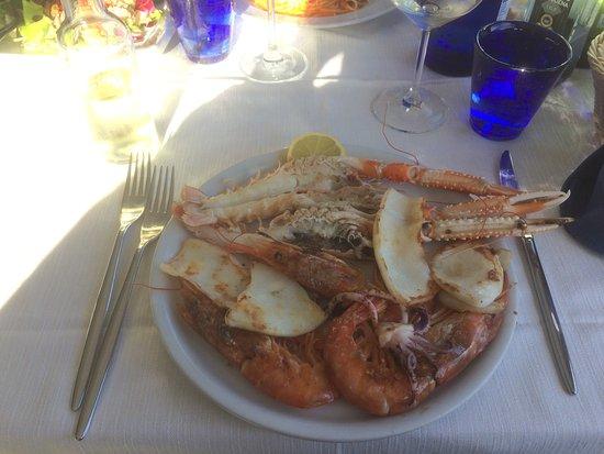 Ristorante Elettra : Assiette fruits de mer
