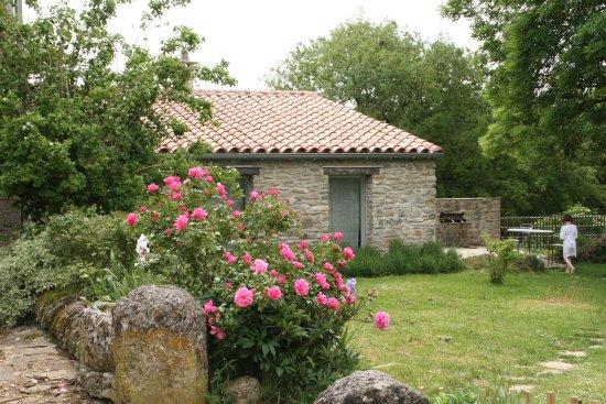 Le Cros, ฝรั่งเศส: Le jardin