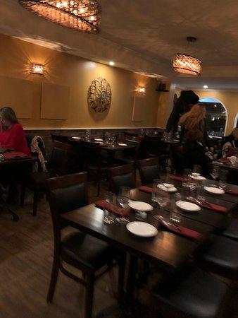Media, Pensilvania: Dine in room