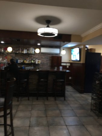 Media, Pensilvania: View of the Bar from the dine in room
