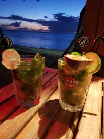 La Varangue du Lagon Chez Denis : Cocktail mojito passion