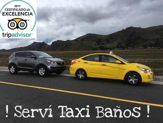 Banos, Ecuador: Taxi / Transporte Turístico