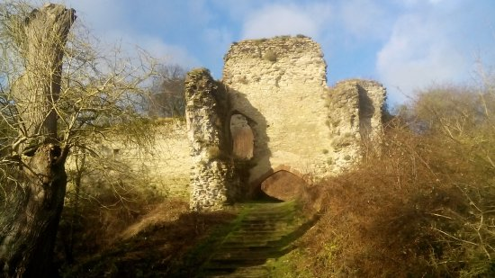 Herefordshire, UK: Wigmore Castle