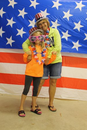 Waseca, MN: 4th of July Photo Shoot at one of our super-fun kid's carnivals