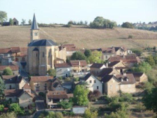 le village de naussac