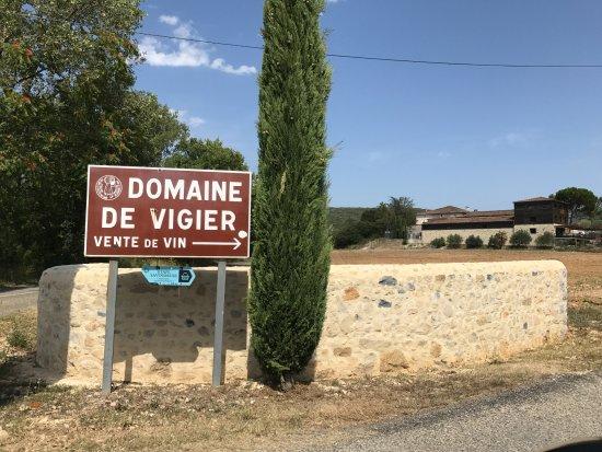 Lagorce, France : Domaine Vigier