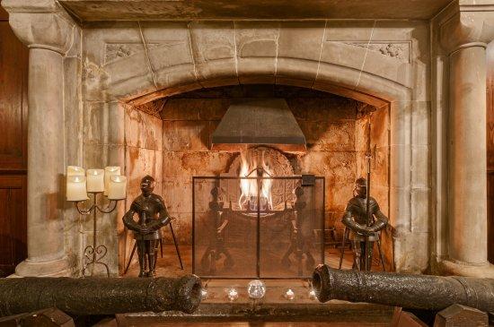 Benderloch, UK: Open Fireplace in the Great Hall