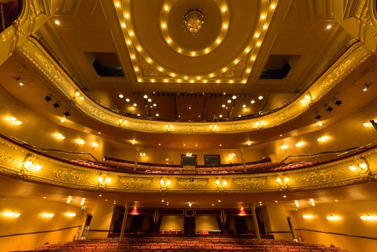 Darlington, UK: Auditorium as seen from the stage