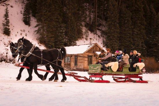 Dunton Hot Springs: Winter Sleigh rides