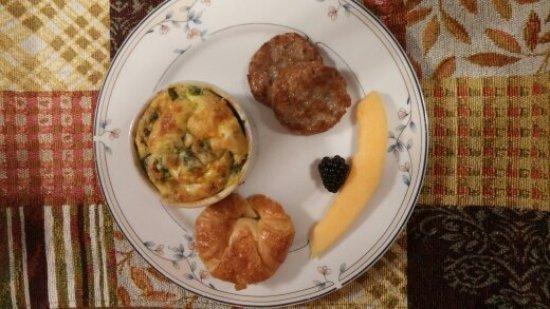 Deutsche Strasse Bed & Breakfast: Breakfast