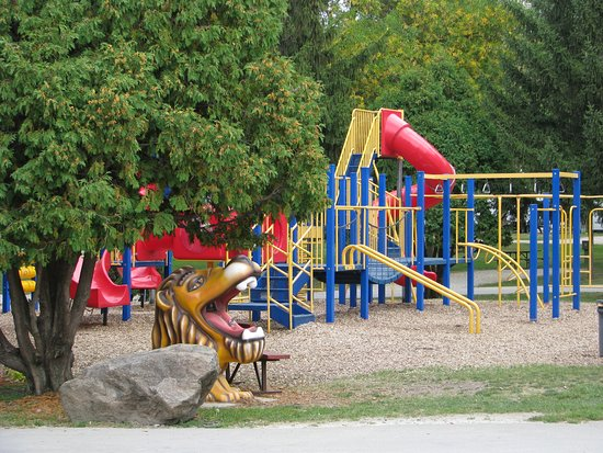 Waseca, MN : Enjoy the laughter as you watch your kids play at one of our commercial playgrounds.