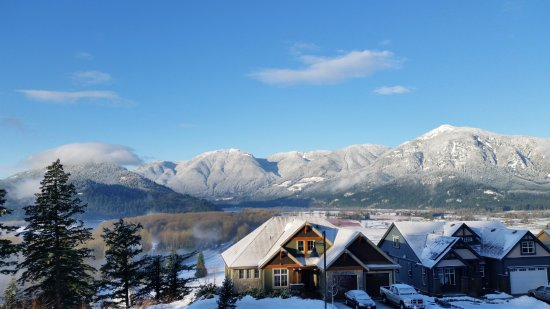 Agassiz, Canadá: Winter view from the main deck