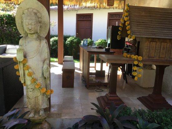 Cocles, Costa Rica: Accueil de l'hotel Réception