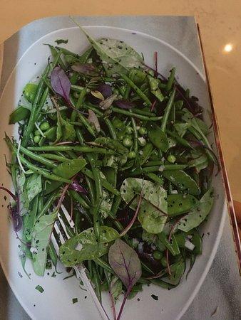 Basil: Green bean salad with mustard seeds and tarragon
