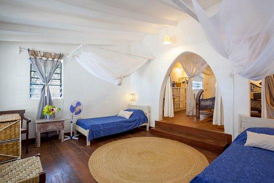 """Kenyaways Beach Bed & Breakfast: Family Sea view room """"rebel"""""""