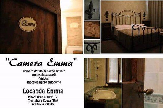 Montefiore Conca, Italia: La nostra camera Emma si affaccia sulla piazzetta per avere una visuale diretta sugli eventi est
