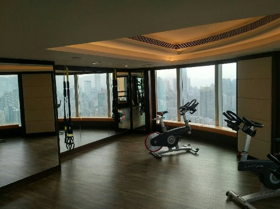 Gym room picture of cordis hong kong