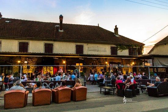 Port-Lesney, Francia: les soirées d'été
