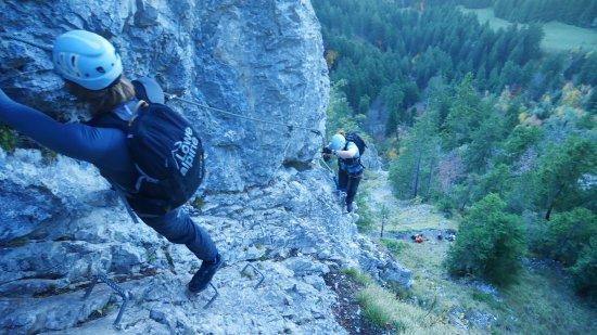 Klettersteig Via Ferrata : Via ferrata gran canaria klettersteig touren mit guide sunbonoo