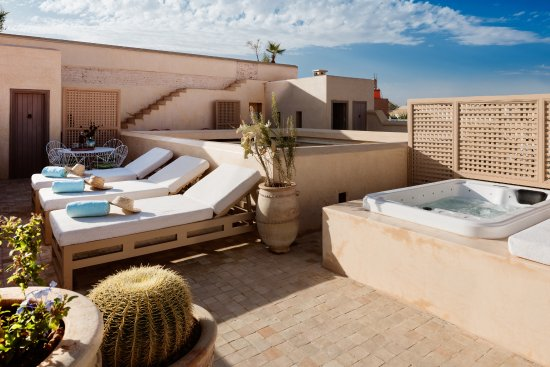 Riad 72: Family suite, private terrace