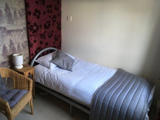 Yorkley, UK: Blackpool bridge single bed in annex