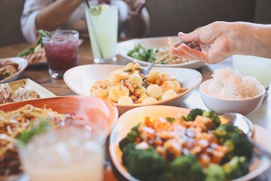 San Rafael de Escazu, Costa Rica: La cena está servida