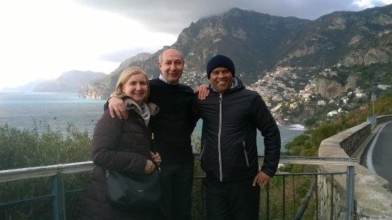 Sorrento, Positano and Amalfi Day Tour from Naples: bella giornata,complimenti a DA SILVA