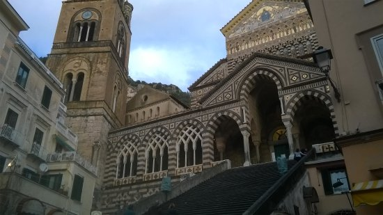 Sorrento, Positano and Amalfi Day Tour from Naples: Duomo di Amalfi